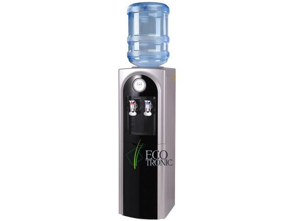 Кулер для воды напольный с компрессорным охлаждением Ecotronic C21-LС black