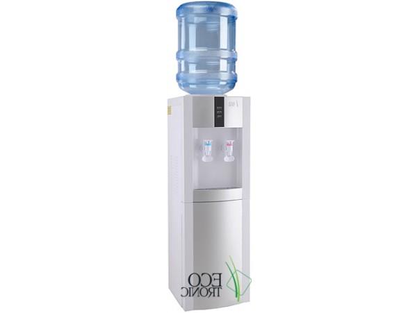 Кулер для воды напольный с электронным охлаждением Ecotronic H1-LE white-silver