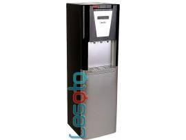 Кулер для воды напольный с холодильником LESOTO 888 L-B black-silver