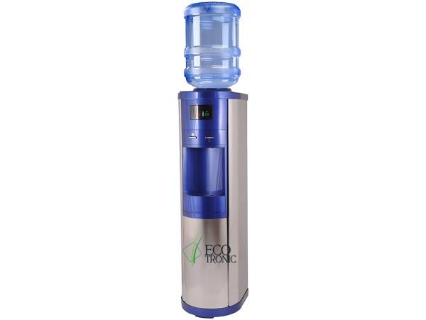 Кулер для воды напольный с компрессорным охлаждением Ecotronic G9-LM blue