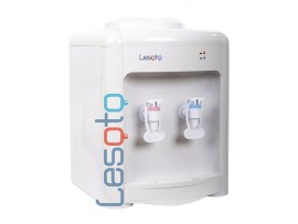 Кулер для воды настольный с электронным охлаждением LESOTO 36 TD white